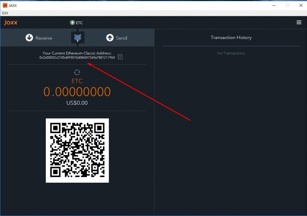 Ethereum classic wallet