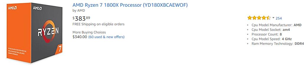 Лучшие процессоры для майнинга в 2018 году